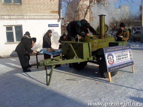 Преображение России - акция накорми голодного