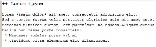 Вики-форматирование