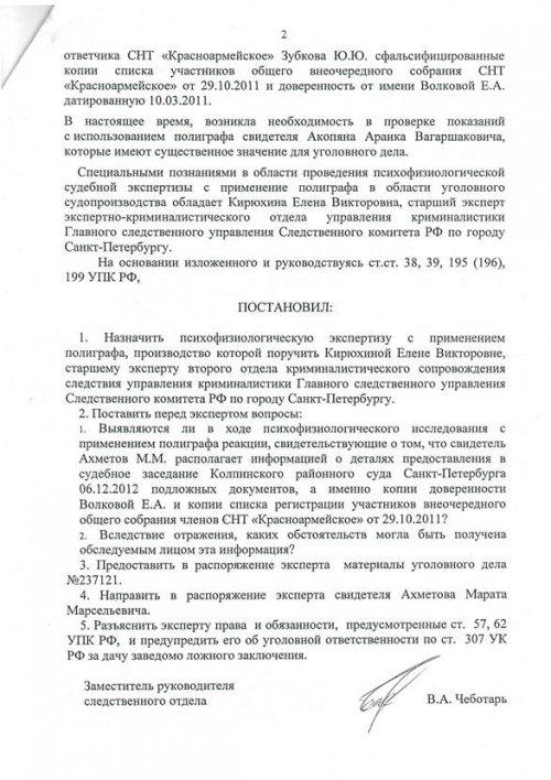 постановление от 10.06.2015 л 2