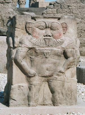 Бес (Бэс, Бесу,Беза) — в древнеегипетской мифологии бог-карлик и весельчак, шут богов, покровитель домашнего очага, божество счастья и везения, а также главный защитник бедных, стариков и детей. Мужской аналог богини кошек Баст.