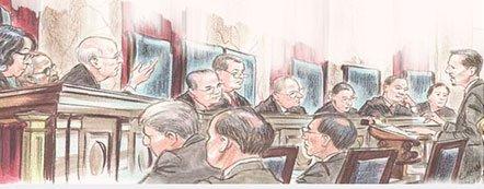 Судебный процесс осуществляется на основе принципов состязательности и равноправия, закрепленных в ч.3 ст.123 Конституции Российской Федерации.